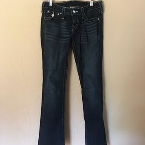 "True Religion ""Disco Becky"" flare jeans"
